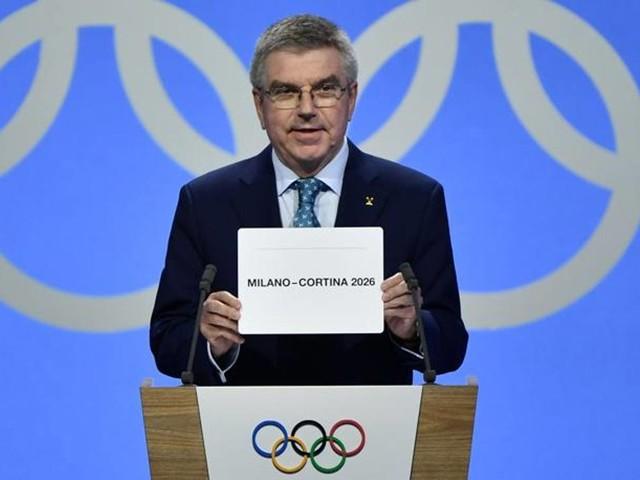 Milano-Cortina, sì! I Giochi tornano in Italia: le foto del trionfo