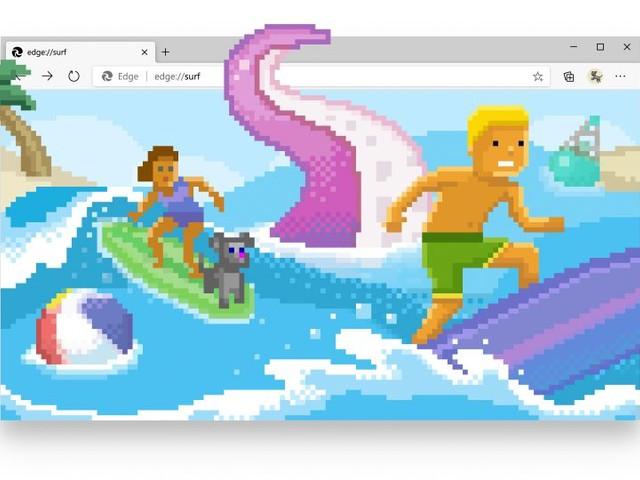 Microsoft Edge 83 contiene il minigame Let's Surf: ecco come si attiva