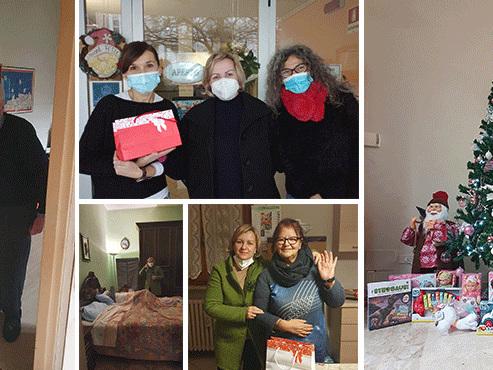 Assistenza Anziani del Po, pacco speciale confezionato da Croce Rossa e tanta solidarietà