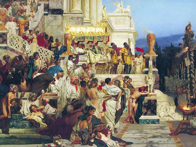 Persecuzione dei cristiani sotto Diocleziano, imperatore romano