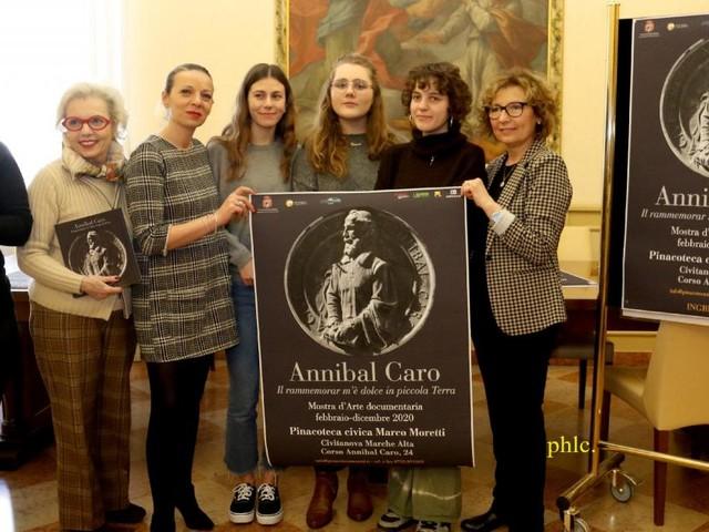 """Civitanova,""""Il rammemorar m'è dolce in piccola terra"""", sabato l'inaugurazione della mostra d'arte dedicata a Annibal Caro"""