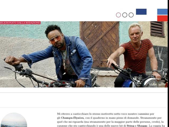 Sting e Shaggy: intervista all'improbabile coppia