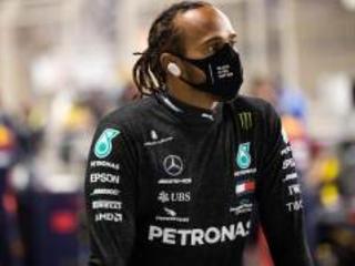 Hamilton contagiato prima della vittoria nel GP Bahrain