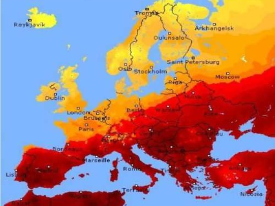 Ondata di caldo in Europa: temperature oltre i 25 gradi in Italia