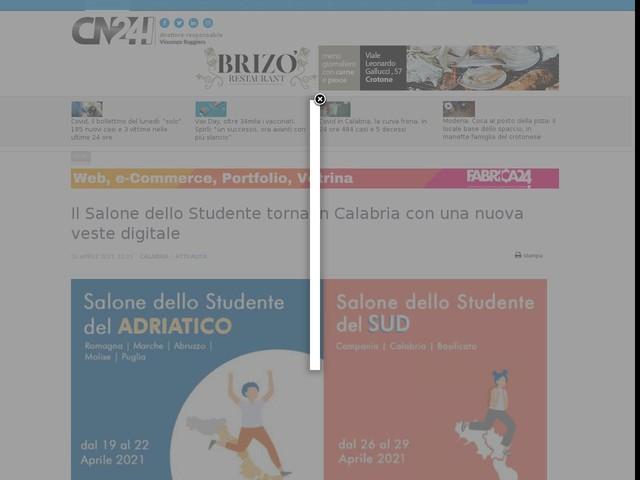 Il Salone dello Studente torna in Calabria con una nuova veste digitale