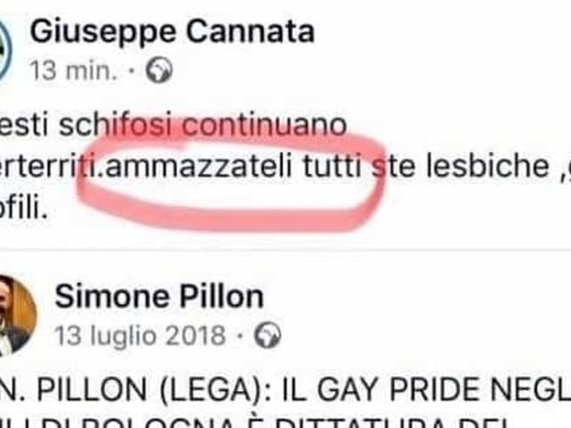 """Il vicepresidente (Fdi) del Consiglio Comunale di Vercelli contro i gay: """"Ammazzateli tutti"""""""
