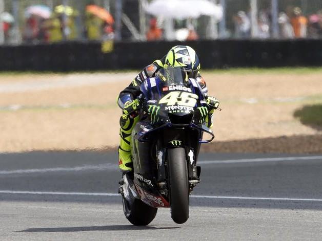 """Moto: Giappone,Rossi """"Periodo difficile"""""""