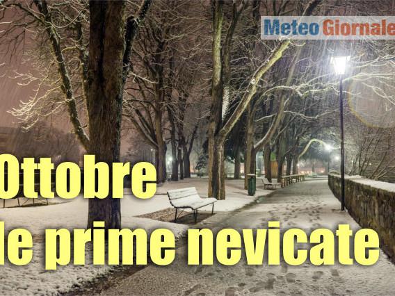 Meteo invernale a ottobre? Quando verrà la neve?
