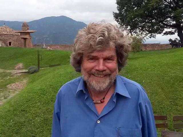 Messner: «Nulla contro Jovanotti è un grande e gli stringerò la mano quando verrà a Plan de Corones»