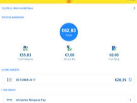 L'app telepass per iPhone e iPad si aggiorna alla vers 2.10.15
