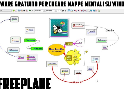 Freeplane | software gratuito per creare mappe mentali su Windows - Web Apps Magazine