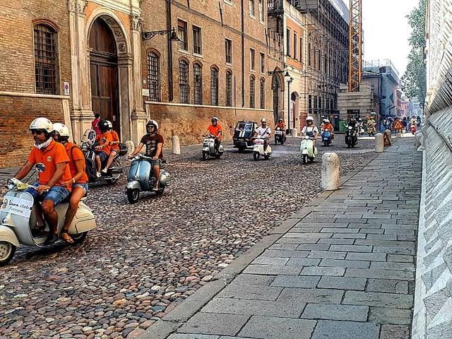 Grande adesione per il Vespa Raduno di Ferrara