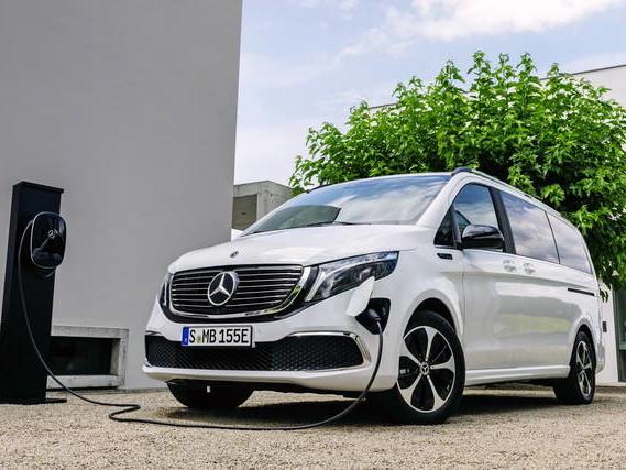 """Mercedes EQV: per viaggi comodi e """"puliti"""""""