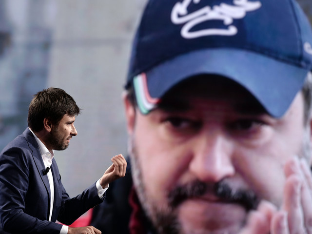 Tutto l'odio di Di Battista Nuova valanga di insulti per il ministro Salvini
