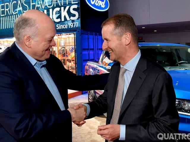 Ford-Volkswagen - Alleanza estesa anche ad auto elettriche e autonome