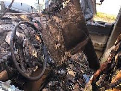 Sulmona, auto bruciata a Lattanzio: è stato un attentato