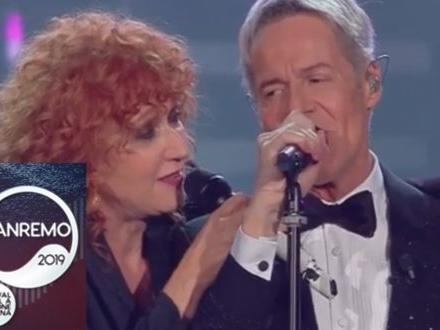 #Sanremo2019 – Fiorella Mannoia e Claudio Baglioni