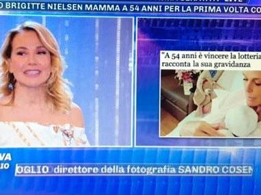 Barbara d'Urso svela chi sarà ospite della prossima puntata di Live – Non è la d'Urso: Brigitte Nielsen