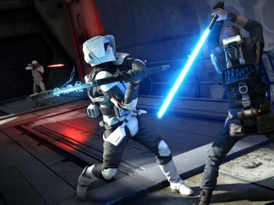 Star Wars Jedi: Fallen Order, spada laser ritoccata dopo le critiche - Notizia - PS4