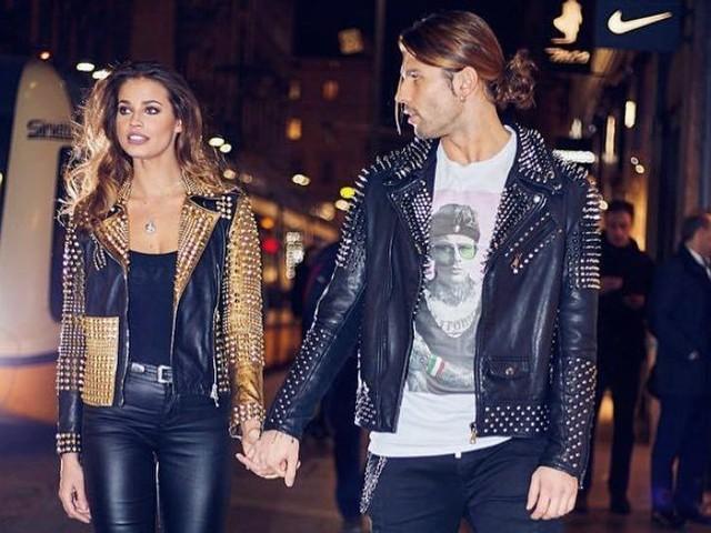 Ivana Mrazova e Luca Onestini, la coppia che veste in coordinato