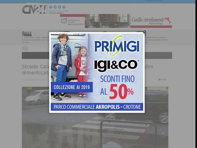 """Strade Calabria, U.Di.Con.: """"La sicurezza dei cittadini dimenticata da anni"""""""