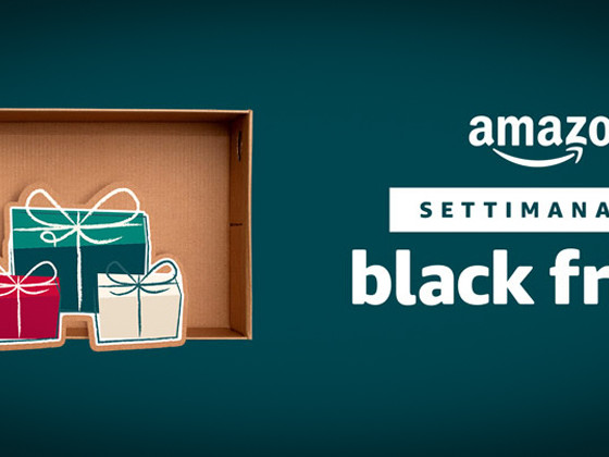 Settimana del Black Friday, tutte le offerte di Amazon in una sola pagina
