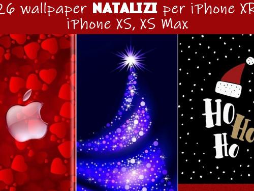 26 wallpaper natalizi per iPhone XR, iPhone XS, XS Max - Web Apps Magazine