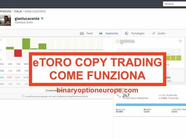 eToro Copy Trading funziona? Come avere successo con eToro [2019]