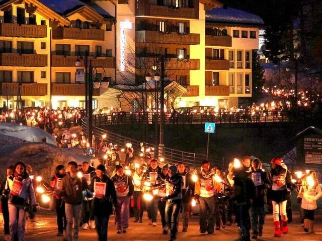 Il 12 Marzo a Campiglio Dolomite's Fire accende la fiamma della solidarietà