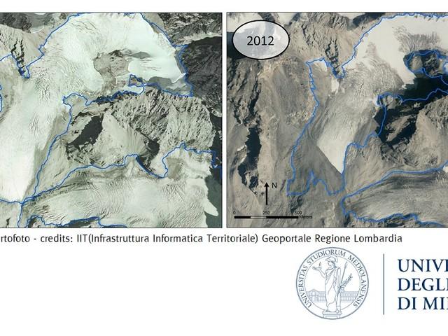 I ghiacciai dello Stelvio sono sempre più neri e più fragili