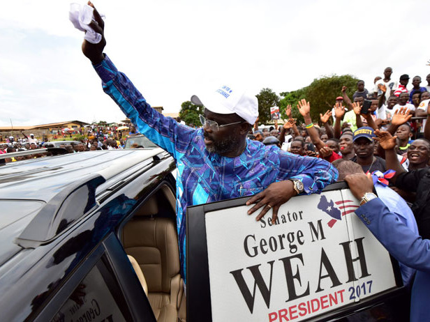 Elezioni in Liberia, Weah in vantaggio