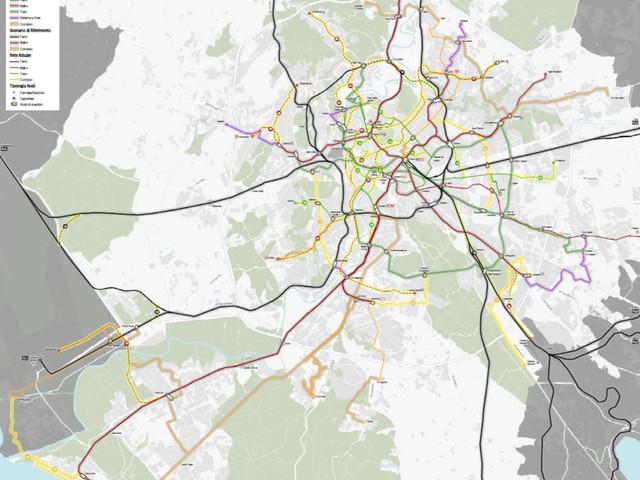 PUMS: ecco la nuova rete delle metropolitane