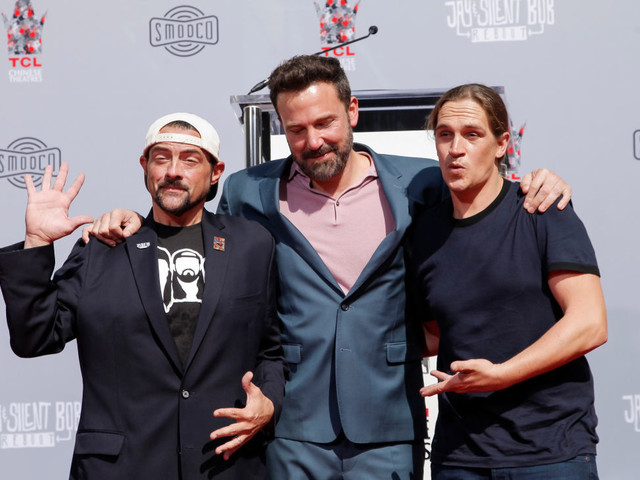 Kevin Smith e Jason Mewes onorati sulla Hollywood Walk of Fame (video)