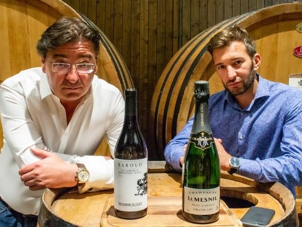 Cantina del Barolo riparte importando Champagne