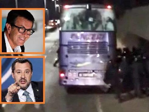 """Salvini attacca Gori: """"Su Firenze presto la verità, lui non usi l'Atalanta per qualche voto"""""""