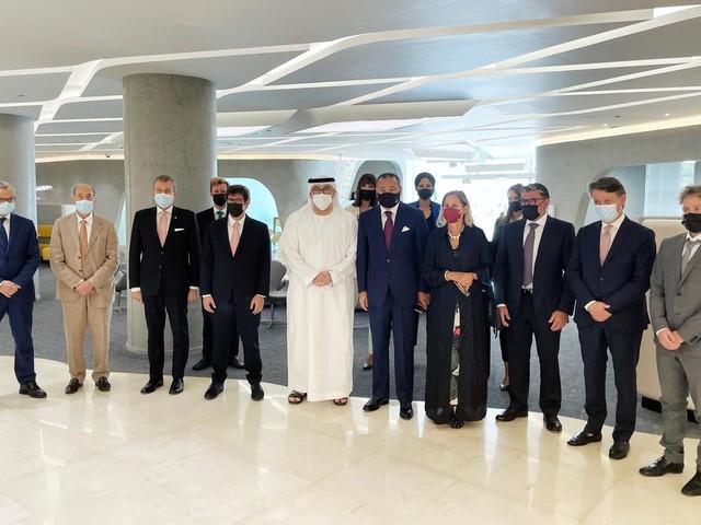 Gruppo San Donato in missione ad Abu Dhabi per discutere collaborazione bilaterale nel settore