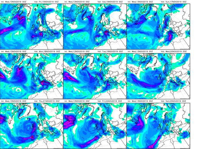Previsioni Meteo Aeronautica Militare: nuovo peggioramento e tanta neve, il bollettino fino al 19 novembre