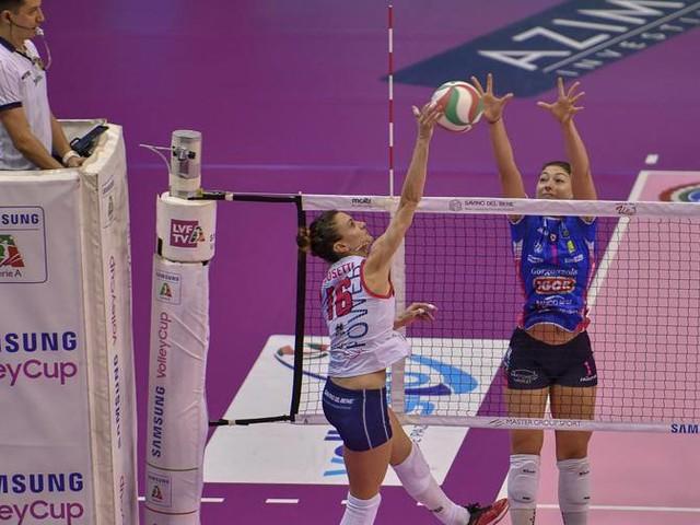 Super Egonu ne fa 38, Novara va ancora in finale