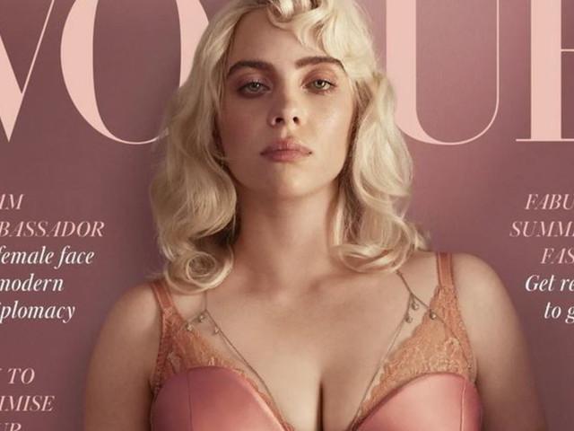 """Billie Eilish si trasforma in una pin-up per """"Vogue"""": """"Mostrare il corpo non deve togliere rispetto"""""""