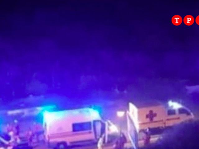 """""""Come a Bergamo"""": Covid, colonna di ambulanze in Sicilia per trasferire gli anziani in ospedale"""