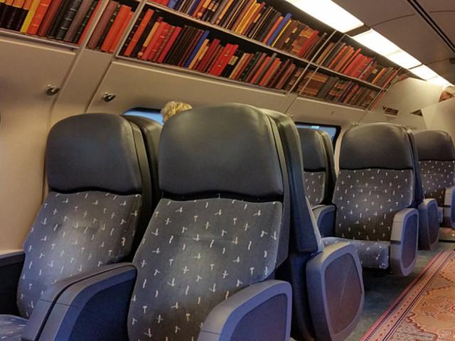 In Olanda i treni diventano biblioteche