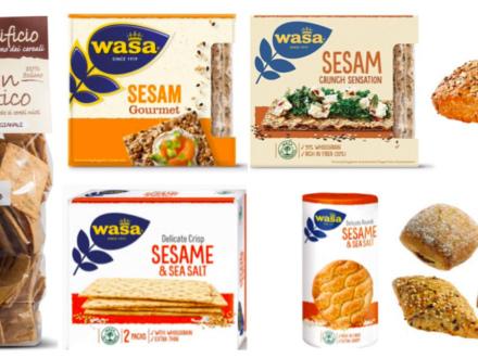 Esselunga e Tigros, richiamate fette croccanti Wasa con sesamo per ossido di etilene. Interessati anche pane azzimo e panini assortiti