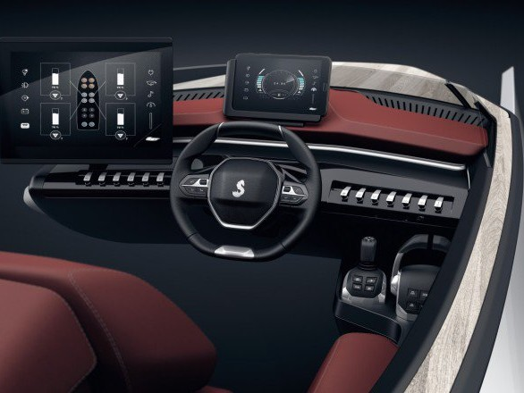 "Peugeot: l'I-Cockpit ""sbarca"" sul Sea Drive Concept"