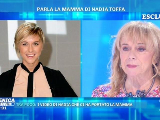 """La mamma di Nadia Toffa racconta l'ultimo giorno di sua figlia a Domenica Live: """"Le dissi vola tesoro mio"""""""