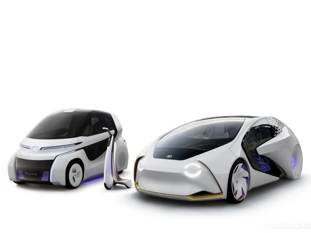 Toyota Concept-i - Al Salone di Tokyo la nuova famiglia elettrica