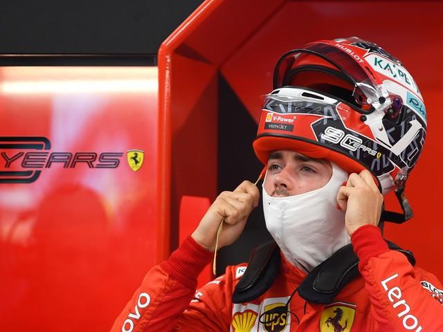 Charles, figlio del vento Con lui la Ferrari non smette più di volare