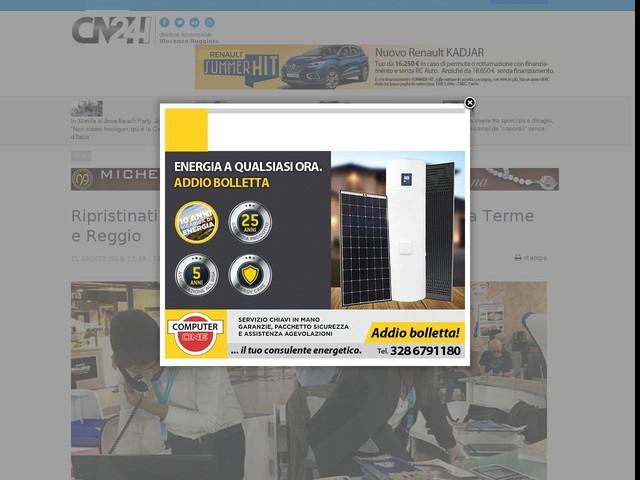 Ripristinati gli Info Point negli aeroporti di Lamezia Terme e Reggio