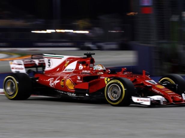 Ferrari, brutto venerdì. Ma Vettel ha fiducia