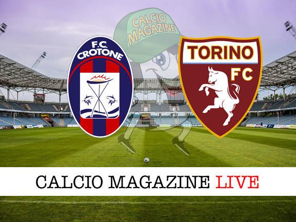 Crotone – Torino: cronaca diretta live, risultato in tempo reale