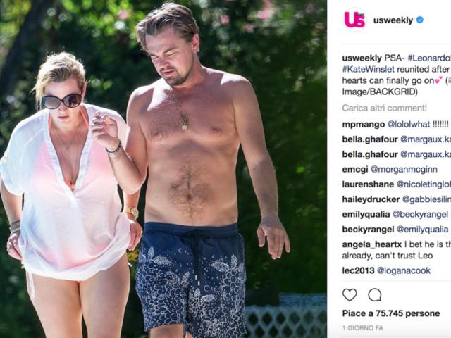 Leonardo DiCaprio e Kate Winslet, migliori amici a Saint-Tropez